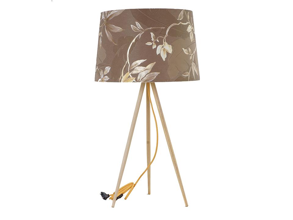 Лампа настольная CrocketСветильники настольные<br>Светильник настольный, ажурный, на трех деревянных ножках. Цоколь лампы: Е27<br>