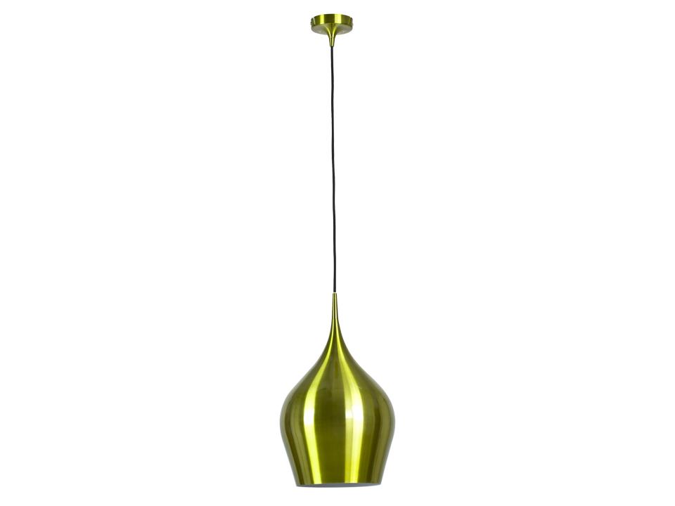 Cветильник Green CupСветильники подвесные<br>Зеленый глянцевый подвесной светильник с внутренней частью белого цвета. Цоколь лампы: Е27.<br>