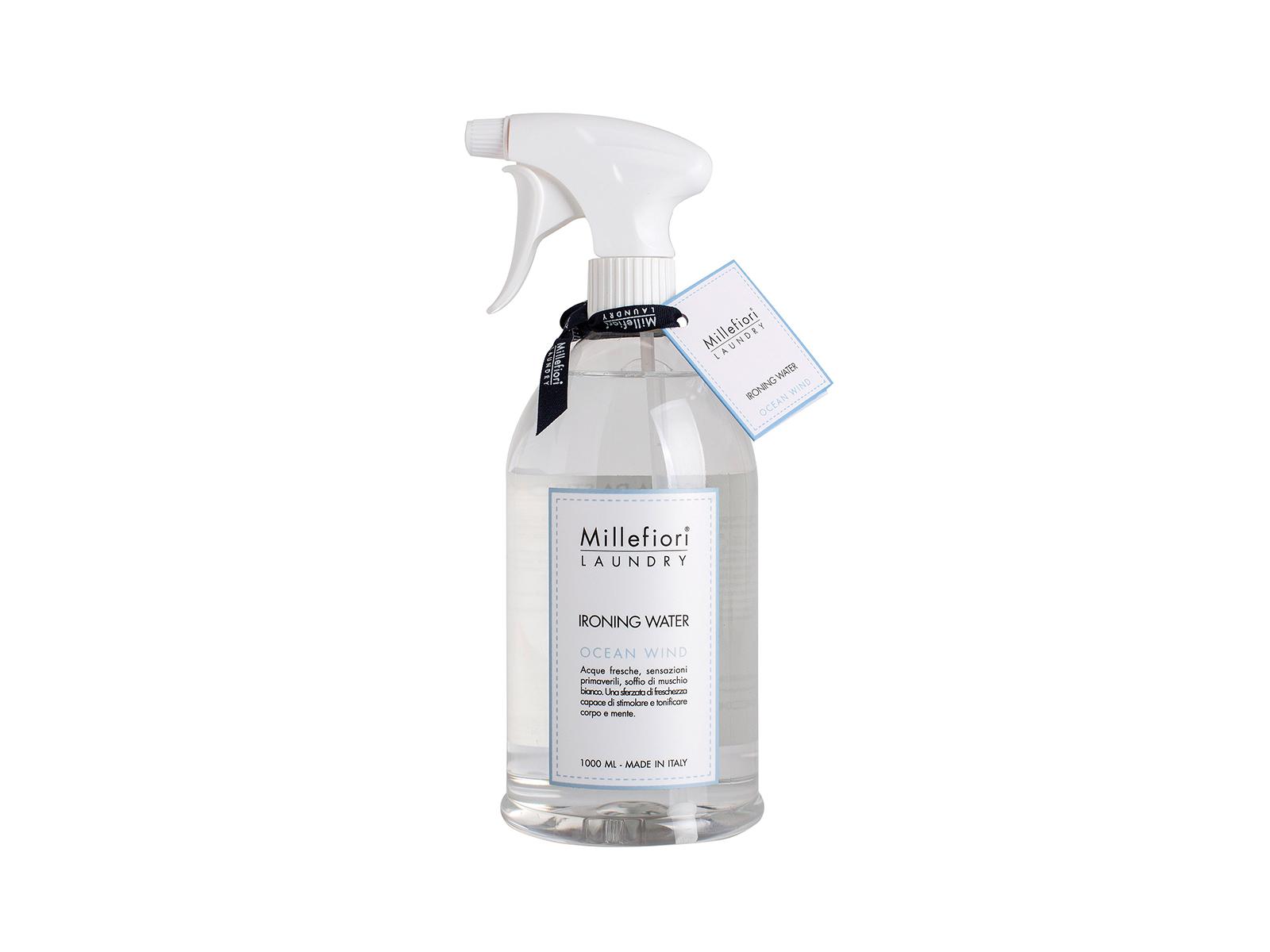 Парфюмированная вода WindАроматы для дома<br>Парфюмированная вода для отглаживания Ветер океана, поможет придать Вашему белью любимый аромат. Стильный прозрачный флакон с дозатором спреем.<br>