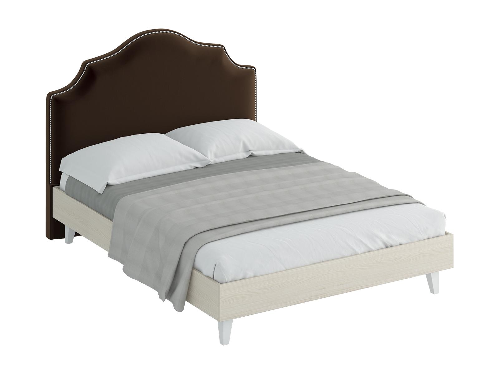 Кровать Queen VictoriaКровати<br>Кровать двуспальная.  Спинка кровати декорирована молдингом. Размер спального места: 1600х2000 мм.<br>