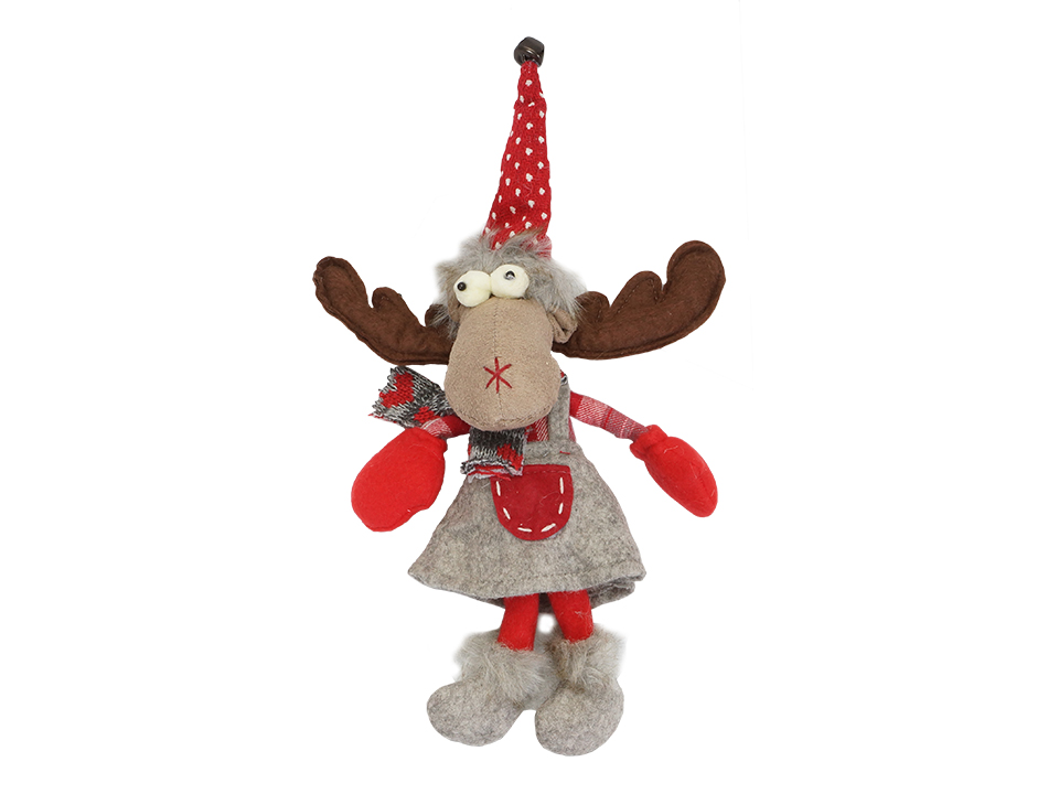 Игрушка Elk GreyОсновной раздел каталога<br>Игрушка декоративная, подвесная<br>