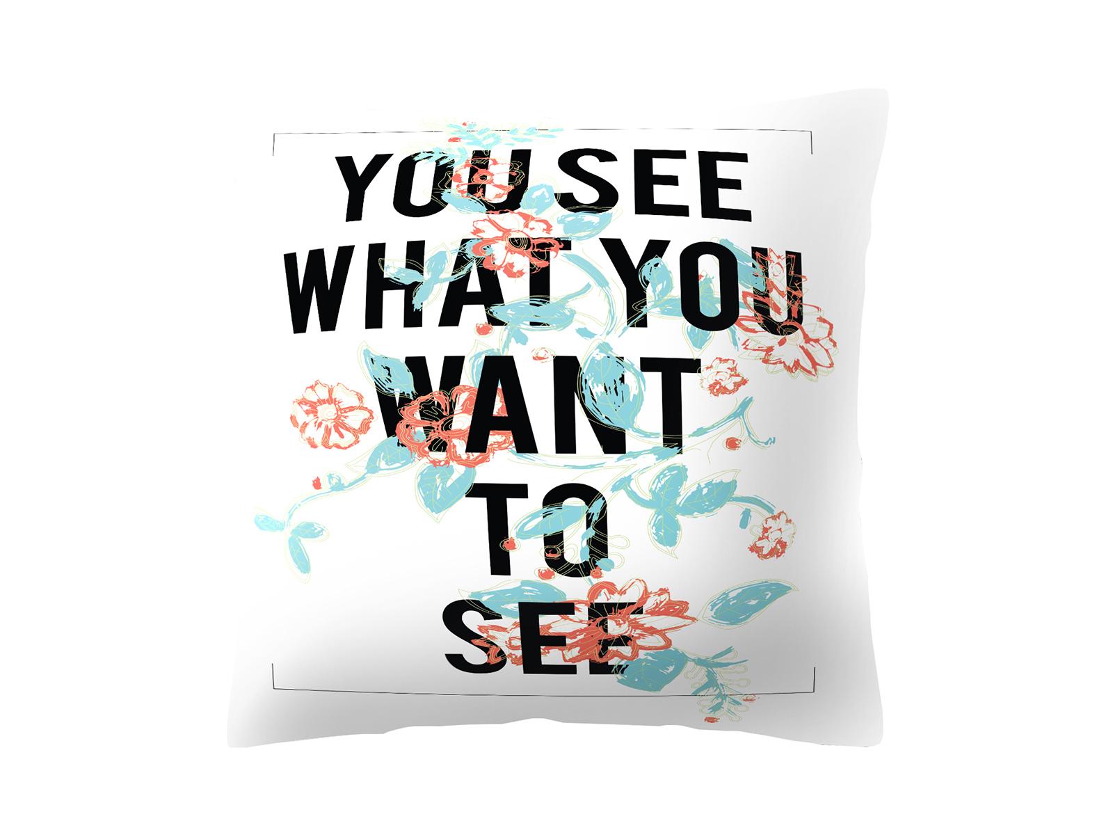 Подушка TitleДекоративные подушки<br>Декоративная подушка со съемным чехлом<br>