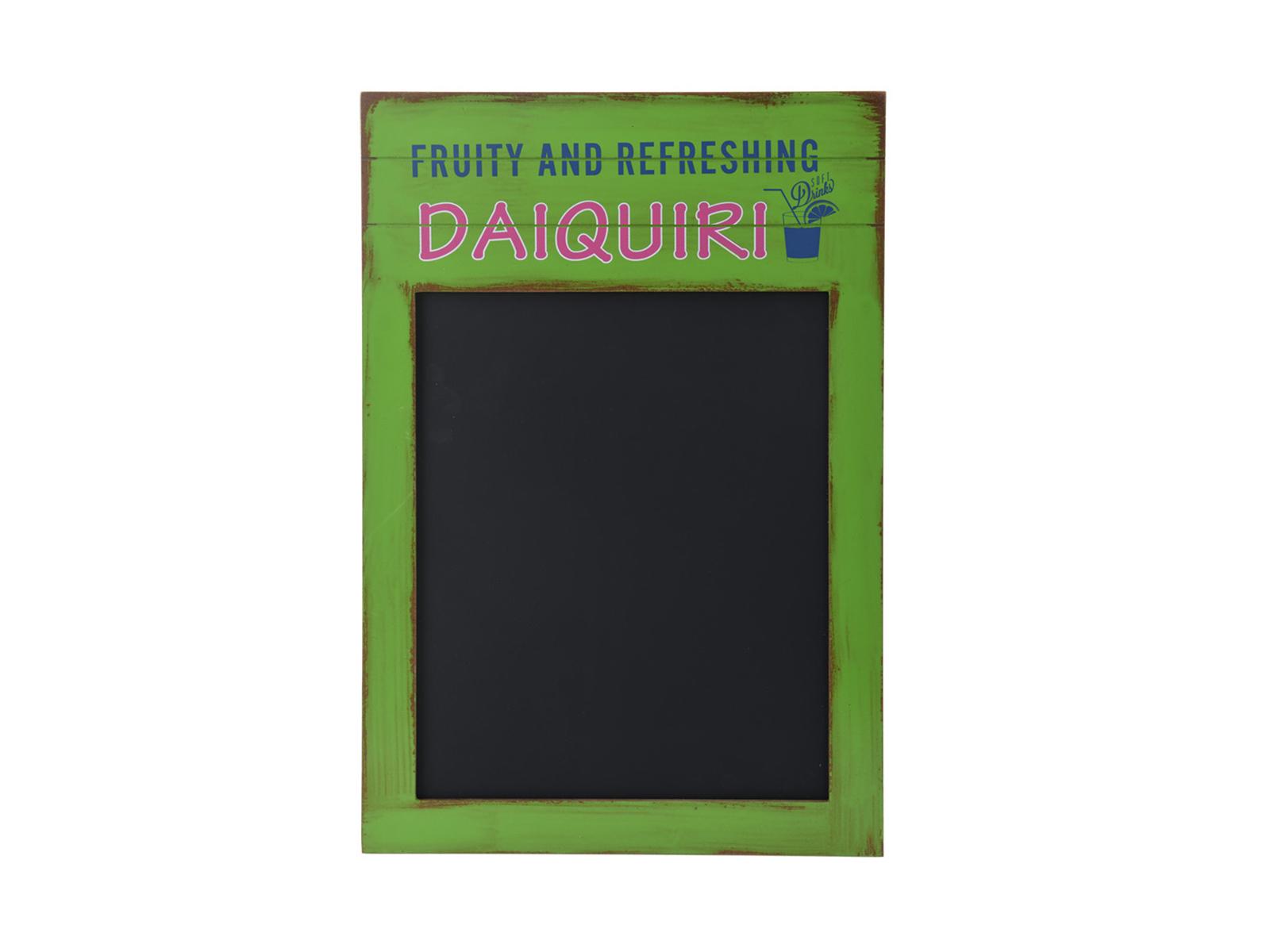 Доска грифельная CaipirinhaОформление интерьера<br>Доска грифельная для письма или рисования в деревянной раме<br>
