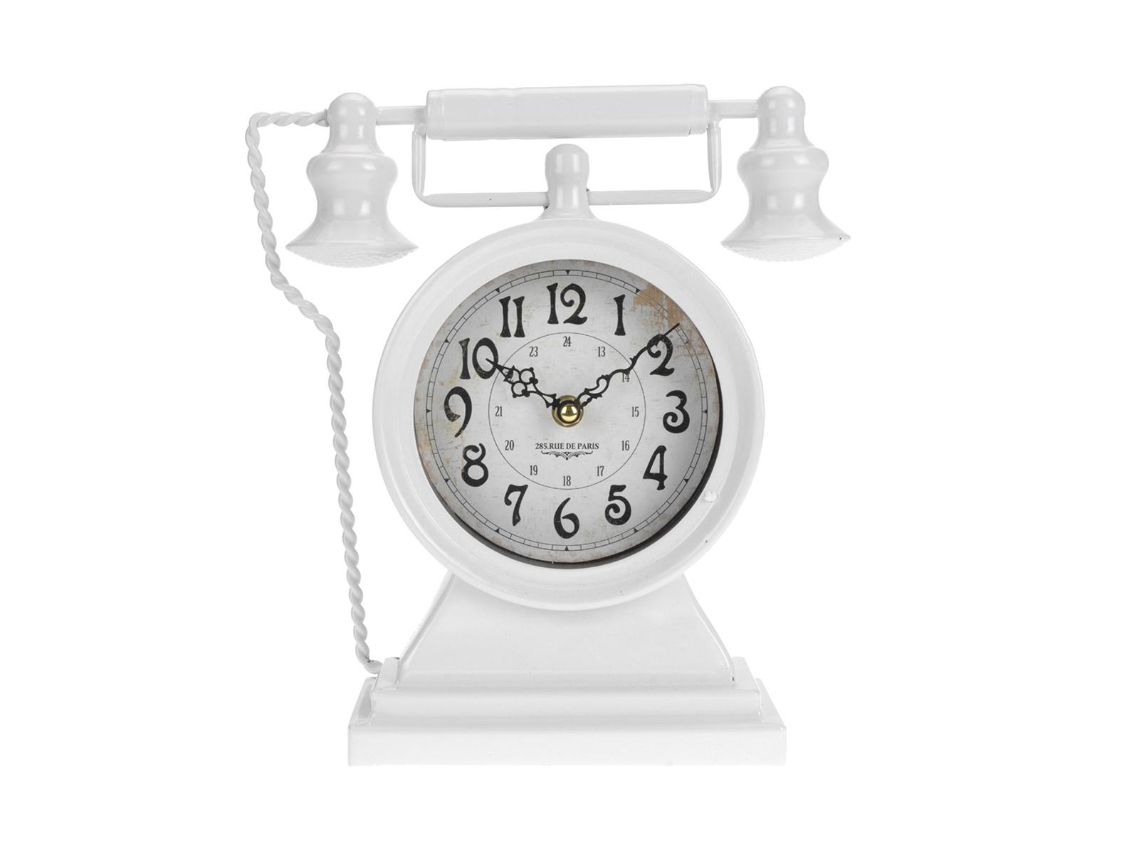 Часы Retro PhoneЧасы<br>Часы настольные, работают от батареек АА<br>