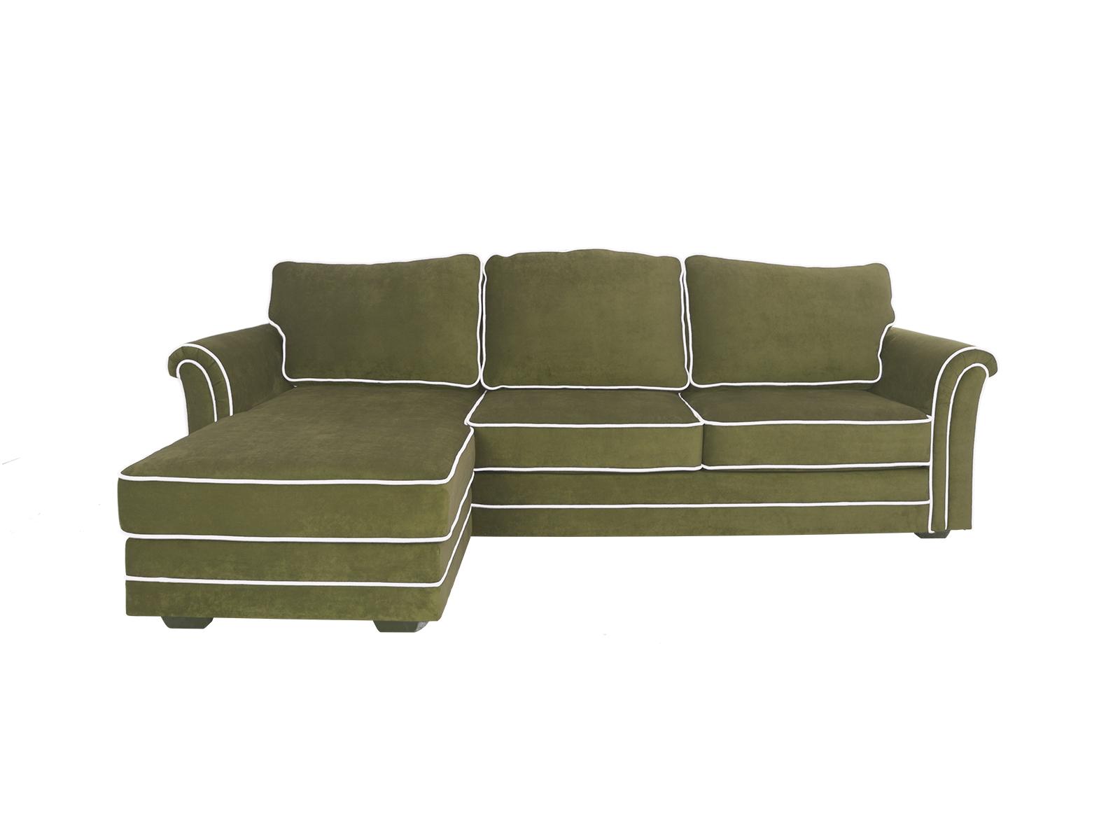 Диван SydneyДиваны и кушетки<br>Угловой диван-кровать с оттоманкой и ёмкостью для хранения. Оттоманка может располагаться как с левой, так и с правой стороны. Размер спального места 1840х1330 мм. Механизм трансформации Sedaflex. Каталог материалов, PDF<br>