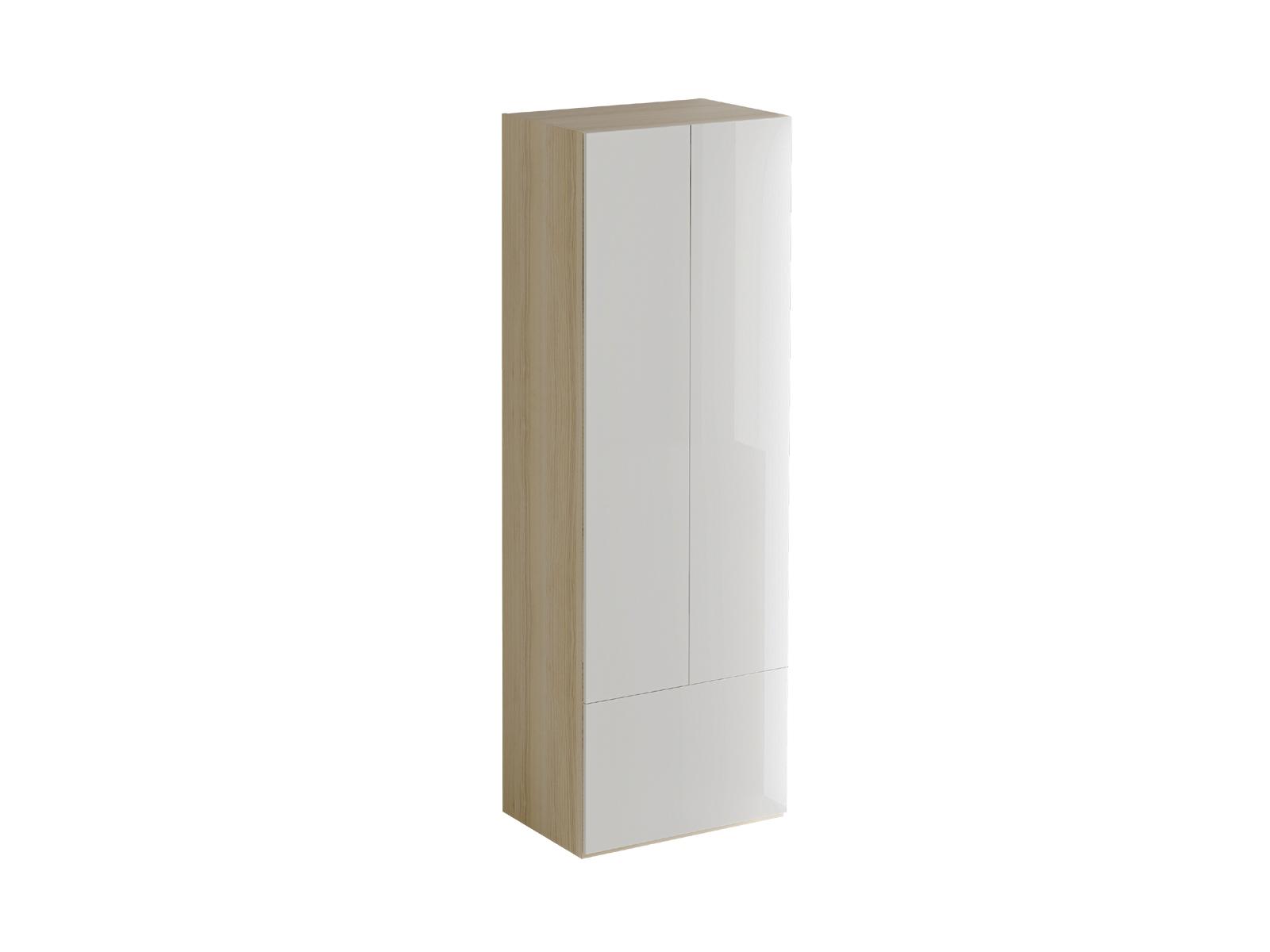 Шкаф PassageШкафы и вешалки<br>Шкаф двухдверный. В верхней части за распашными дверцами расположено отделение со штангой для хранения одежды и крючками. В нижнем отделении за откидной дверцей расположена полка. Двери шкафа открываются по принципу «нажал-открыл».<br>