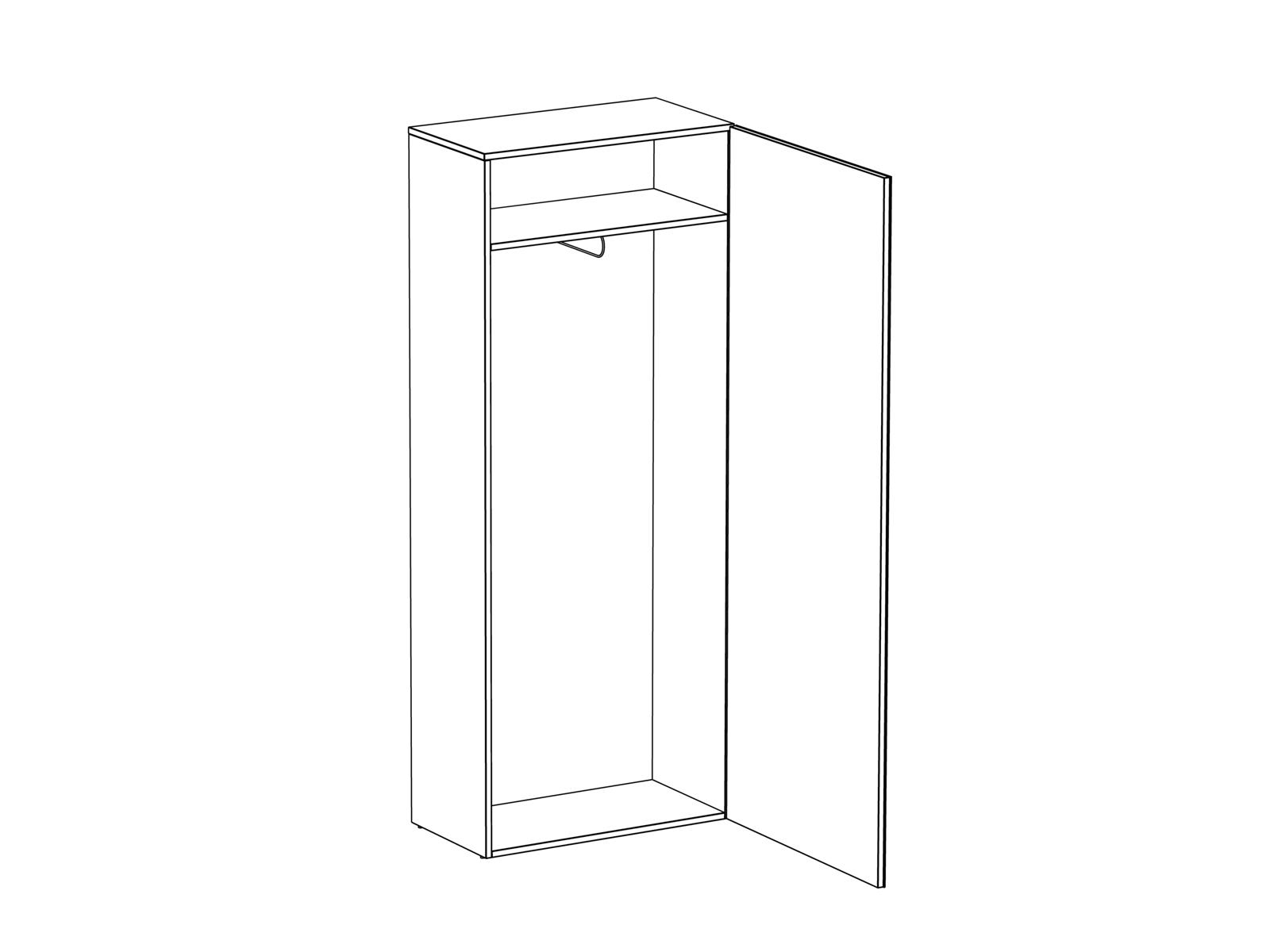 Шкаф для одежды Gusto