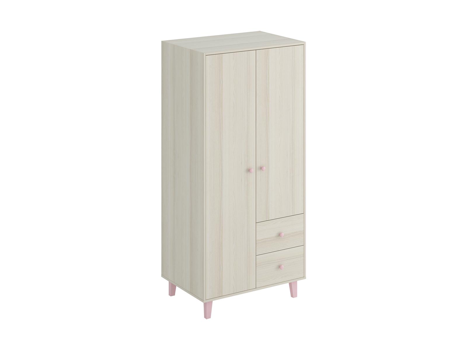 Шкаф CandyШкафы<br>Шкаф для хранения одежды имеет три отделения: отделение с полками, отделение со штангой для одежды, отделение с 2 выдвижными ящиками. Шкаф крепится к стене.<br>