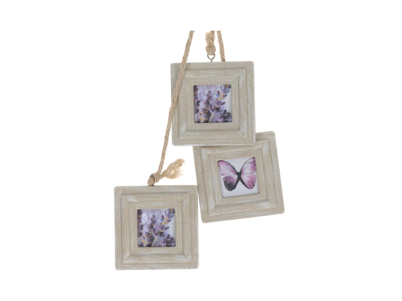 Фоторамки RavetФоторамки<br>Рамки для фотографий деревянная, для 3-х фотографий, подвесная<br>