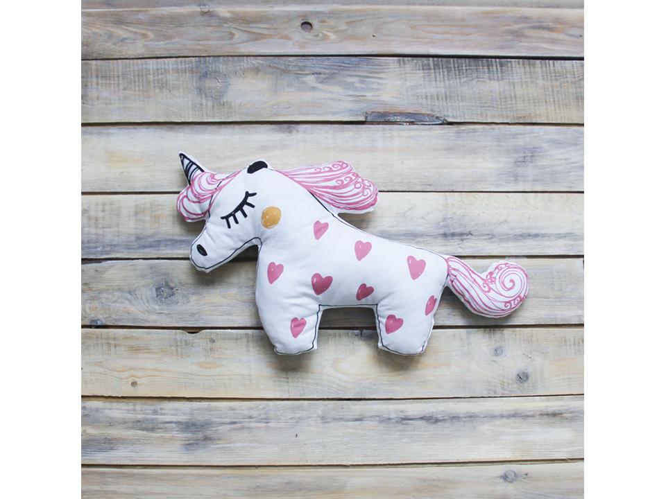 Игрушка UnicornВигвамы<br>Декоративная игрушка - подушка ручной работы из экологичных материалов.<br>
