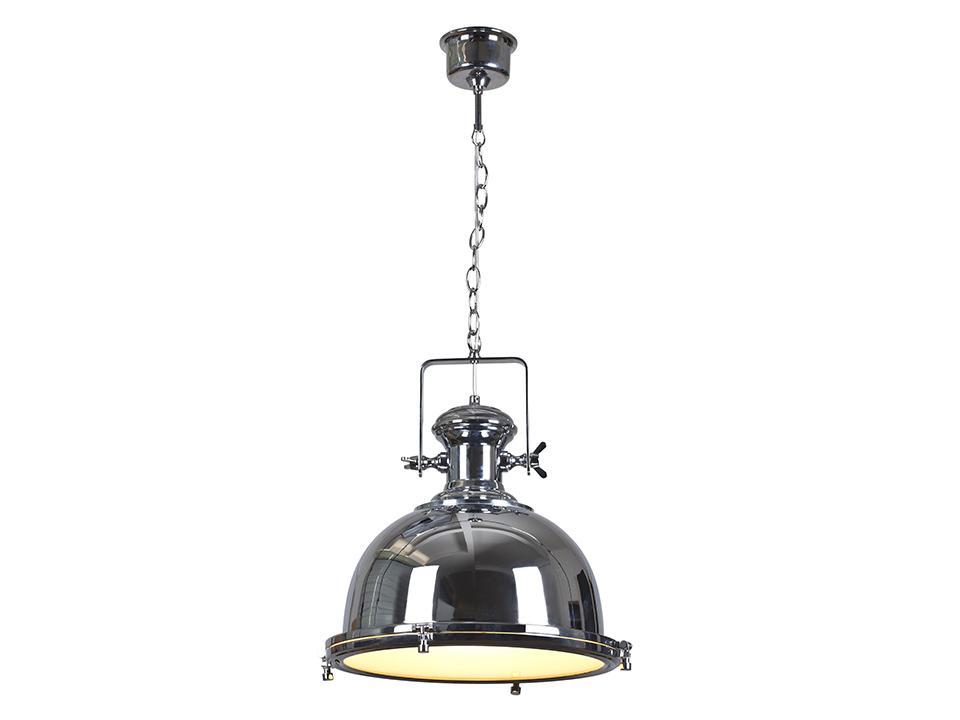 Cветильник Ship lanternСветильники подвесные<br>Светильник подвесной  на цепочке с белым матовым экраном для рассеивания света. Цоколь лампы: E27<br>