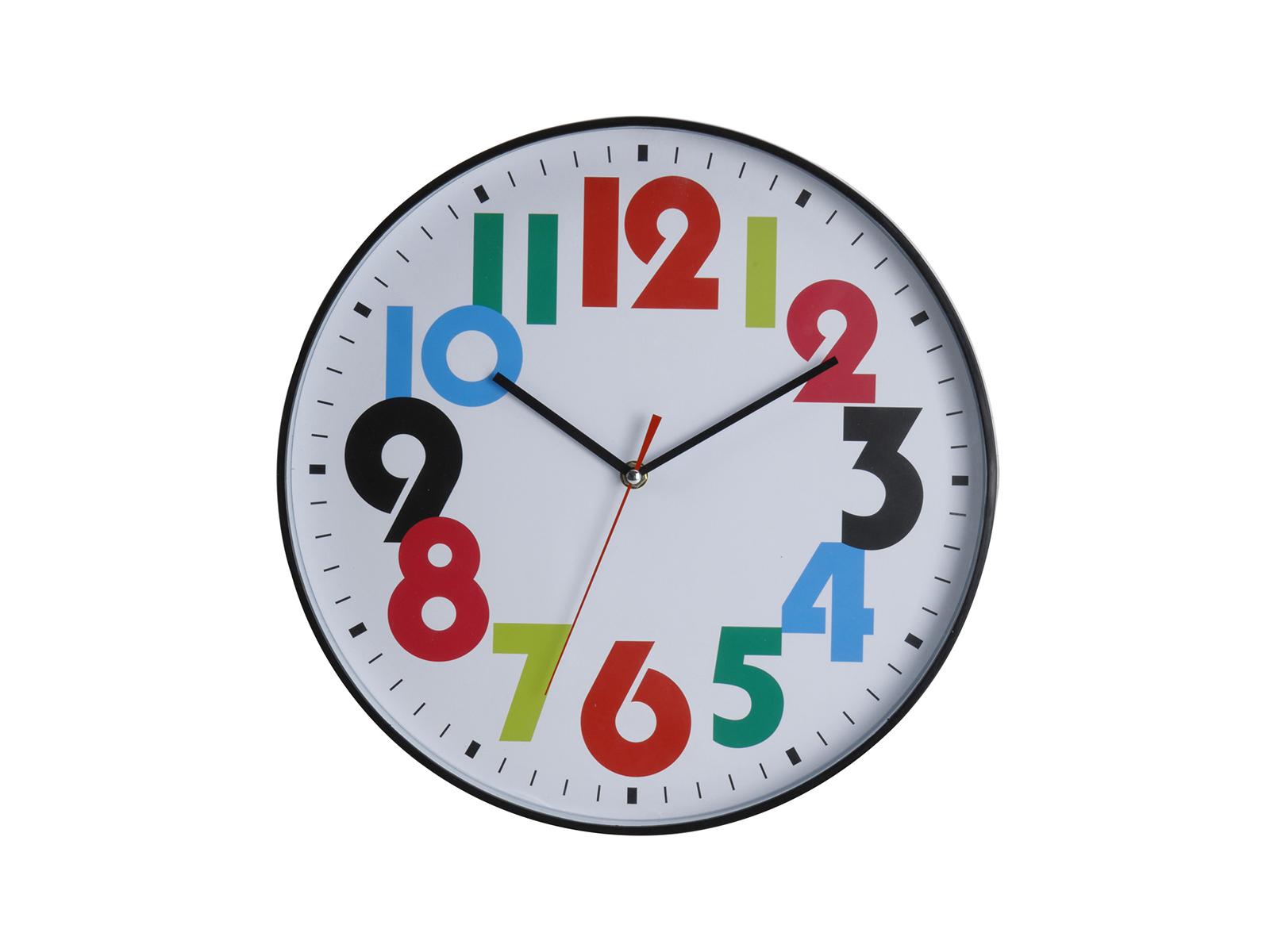 Часы Fun numbersЧасы<br>Часы настенные, работают от батареек АА<br>