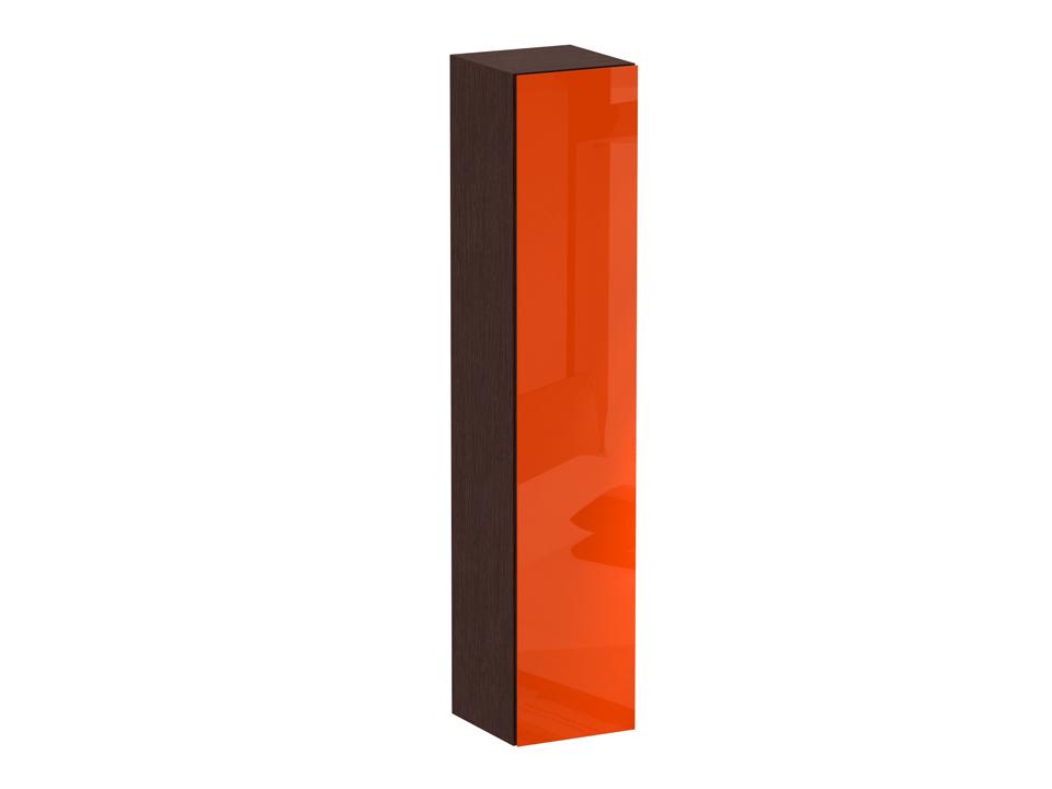 Пенал CuboШкафы<br>Шкаф-пенал с одним отделением за распашной дверью. Наполнение шкафа - четыре полки. В комплекте идут щитовые и стеклянные полки. Дверь открывается по принципу «нажал-открыл».<br>