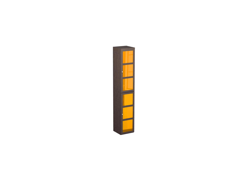 Шкаф одинарный NoireШкафы<br>Шкаф с 6 отделениями для хранения.<br>