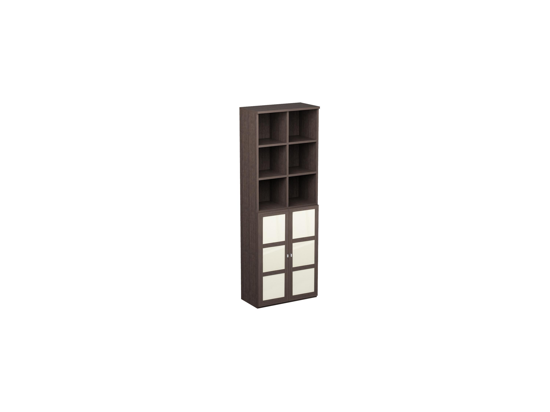 Шкаф двойной NoireШкафы<br>Шкаф с 12 отделениями для хранения.<br>