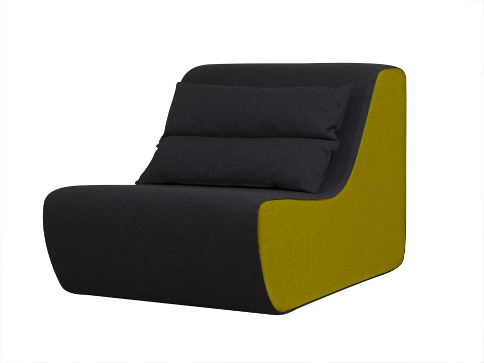 Кресло NeyaКресла<br>Кресло модульное. Предусмотрено соединение кресел друг с другом для составления композиций.<br>