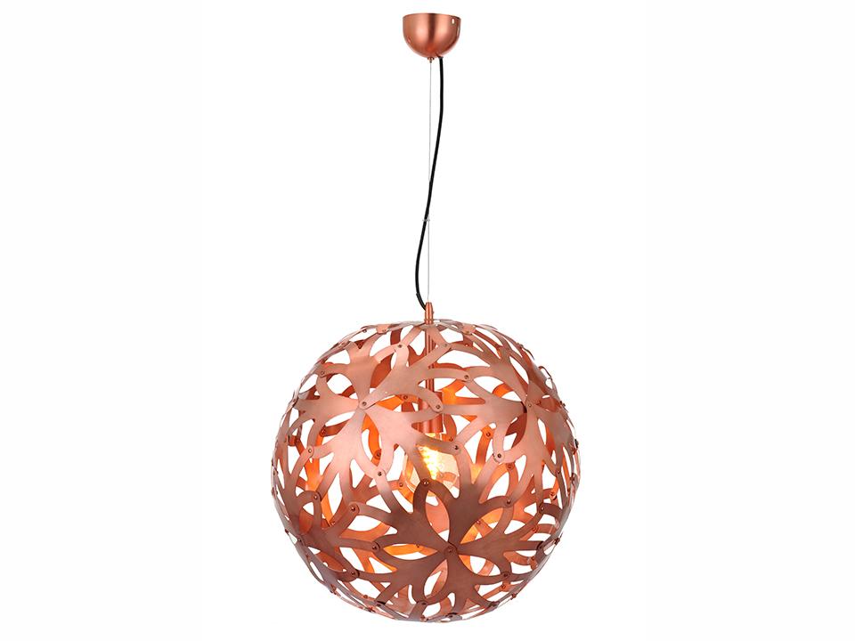 Светильник подвесной FloraСветильники подвесные<br>Светильник подвесной, в форме декоративного шара с прорезями. Цоколь лампы: Е27<br>