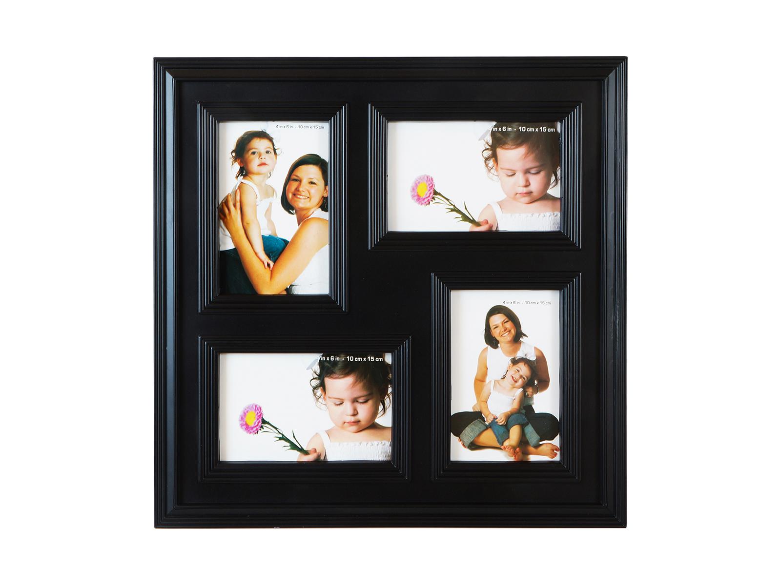 Фоторамка BlackФоторамки<br>Рамка для 4-х фотографий, подвесная<br>