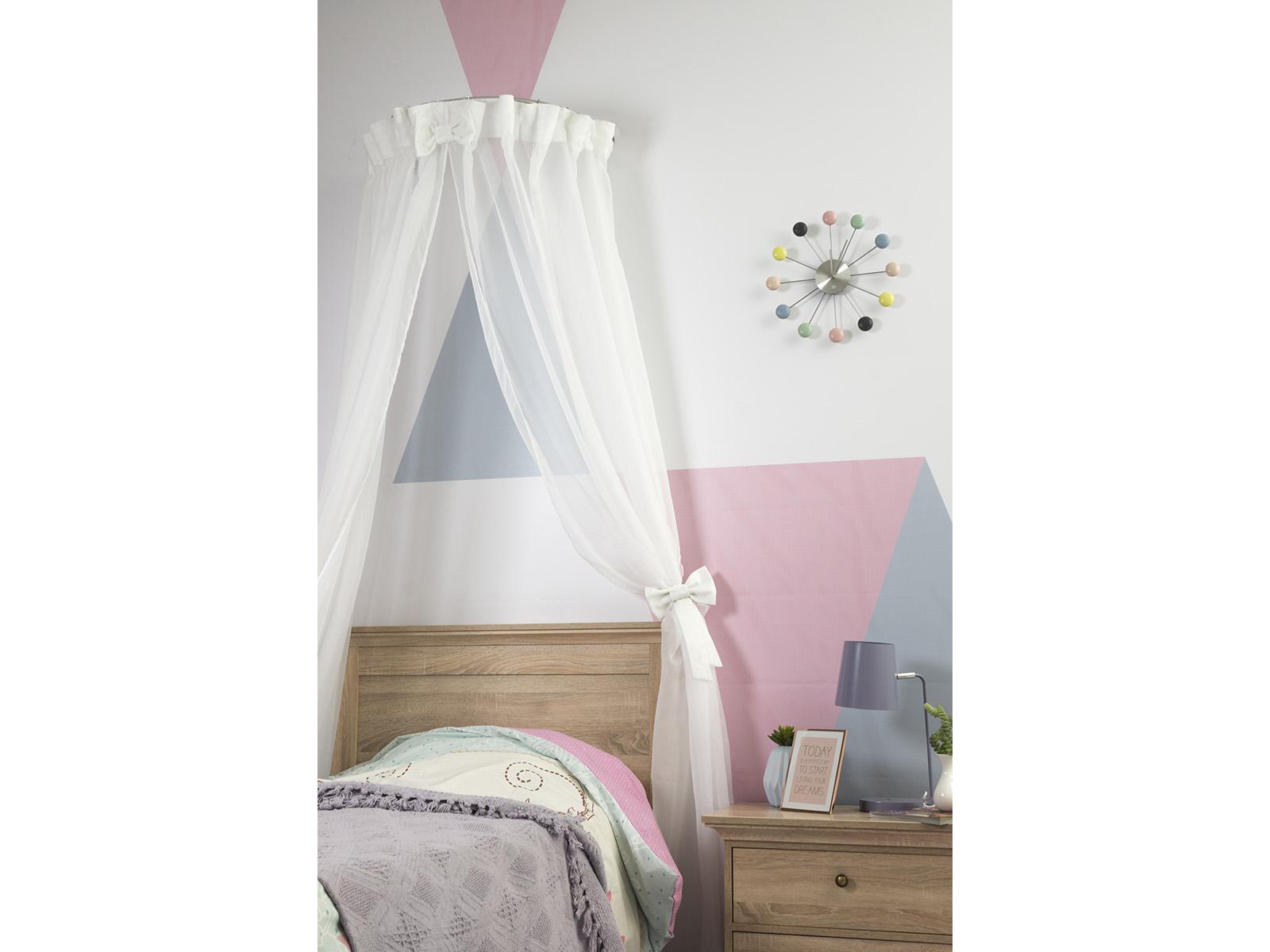 Балдахин ReinaКровати<br>Балдахин декорирован бантами. Крепится на стене над кроватью.<br>