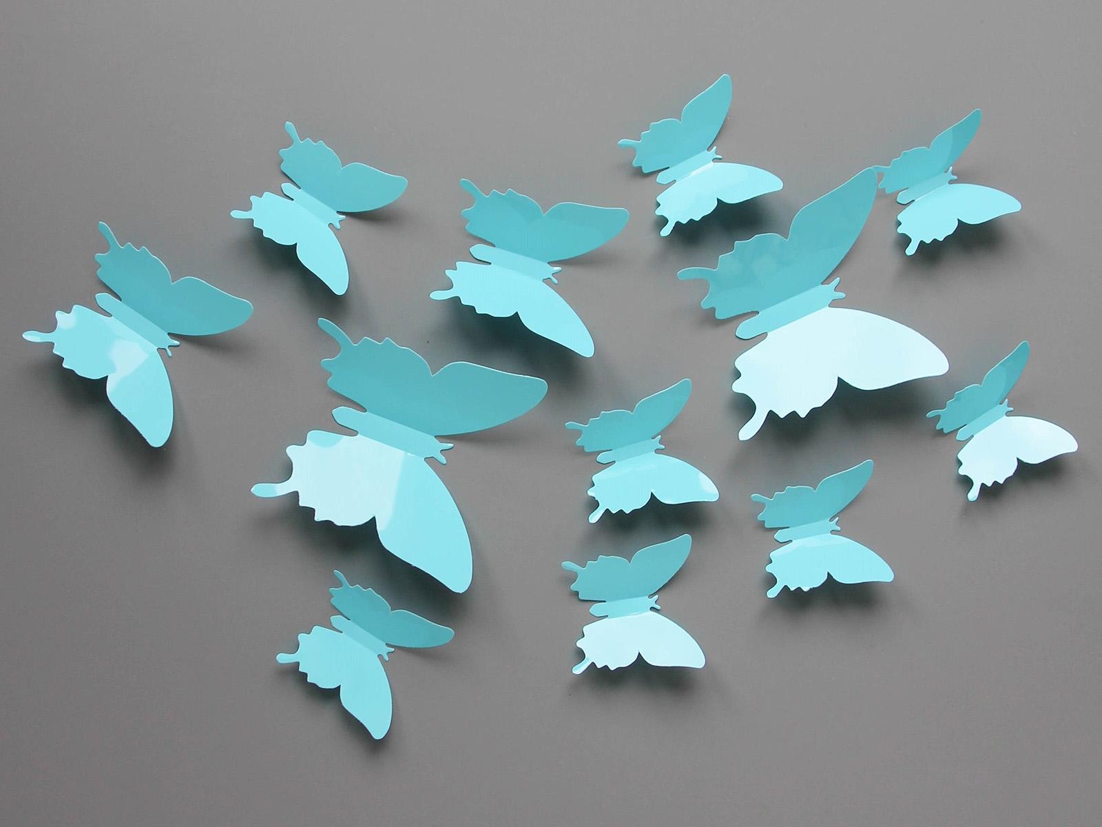 Наклейка ButterfliesВигвамы<br>Представьте, как обрадуется малыш, если в детской поселятся волшебные бабочки. И Вы можете подарить непоседам такой праздник. Не стоит волноваться за обои, эти интерьерные наклейки отклеиваются так же легко, как наклеиваются<br>