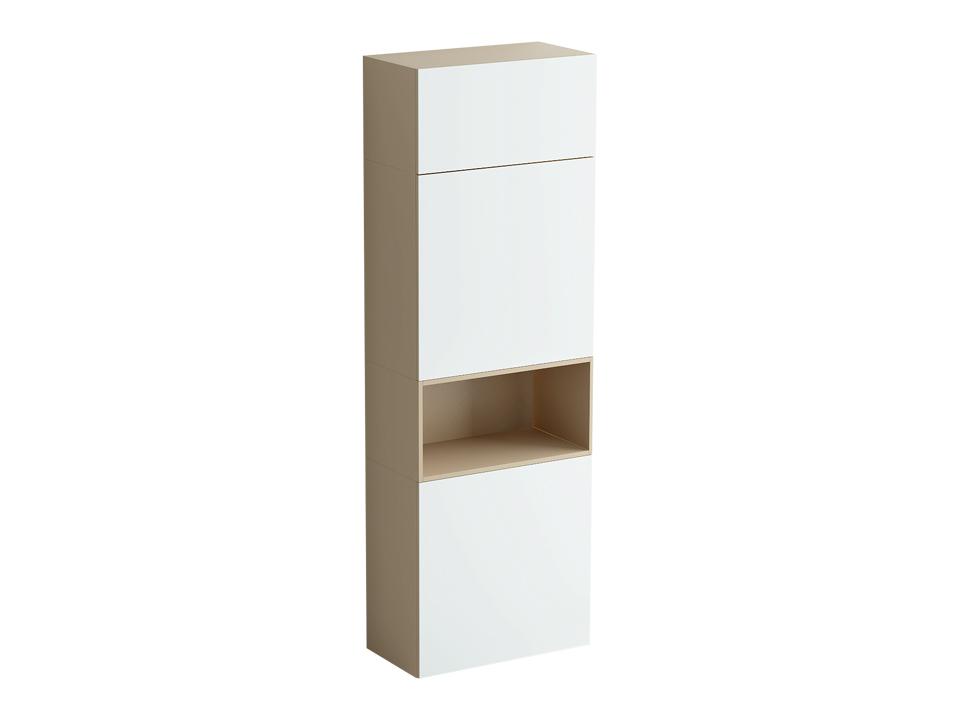 Шкаф DiamondШкафы<br>Шкаф включает в себя два отделения одинакового размера  с распашными дверями и полками, разделенные нишей, и отделение за подъемной дверью над ними. Двери шкафа открываются по принципу «нажал-открыл». Шкаф установлен на ножки с возможностью регулировки по...<br>