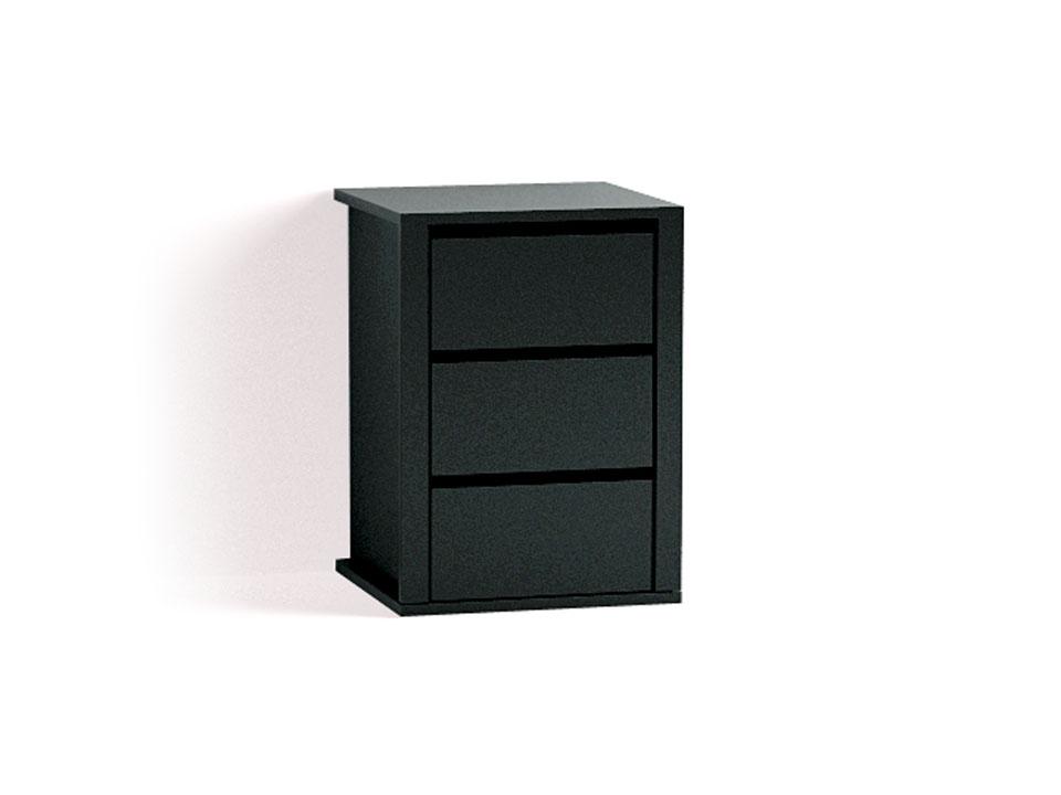 Комод FlyОсновной раздел каталога<br>Встроенный комод с 3 ящиками для установки в любой проем шкафа.<br>