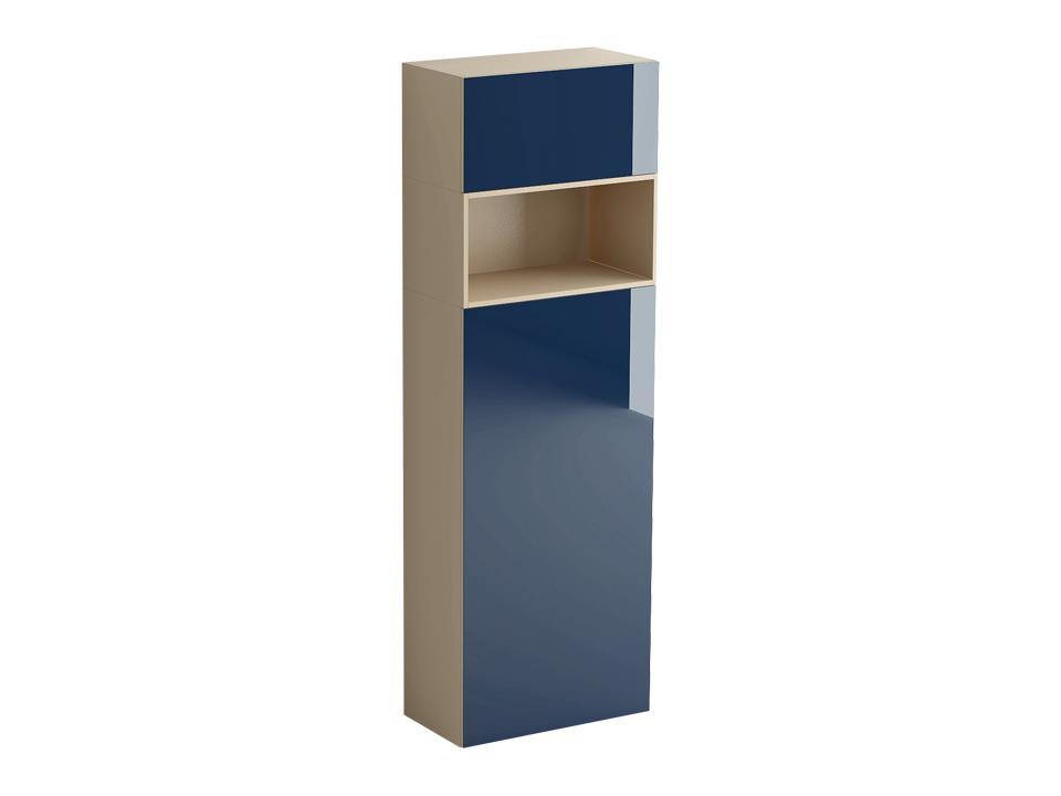 Шкаф DiamondШкафы<br>Шкаф состоит из двух отделений разделенных нишей. Нижнее отделение с распашной дверью оборудовано тремя полками, средняя является несъёмной. Дверь может быть установлена слева или справа. Верхнее отделение с подъёмной дверью. Двери шкафа открываются по пр<br>