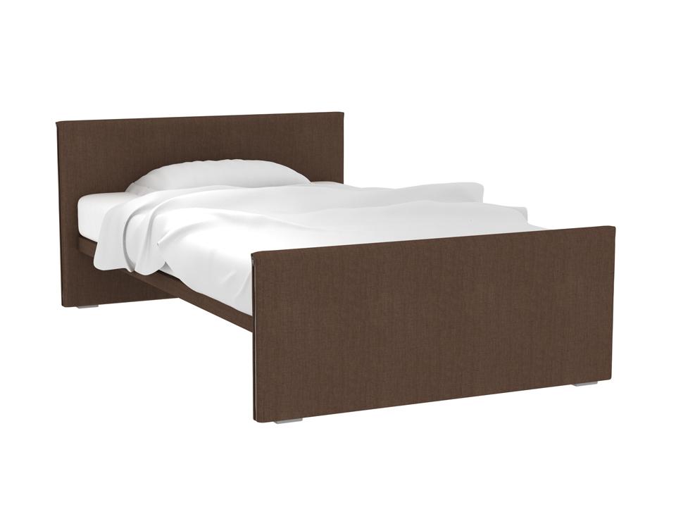 Кровать StudioКровати<br>Полутороспальная кровать. Размер спального места – 1200x2000 мм. Кровать имеет несъемный тканевый чехол. Дополнительно может снабжаться выкатной секцией.<br>