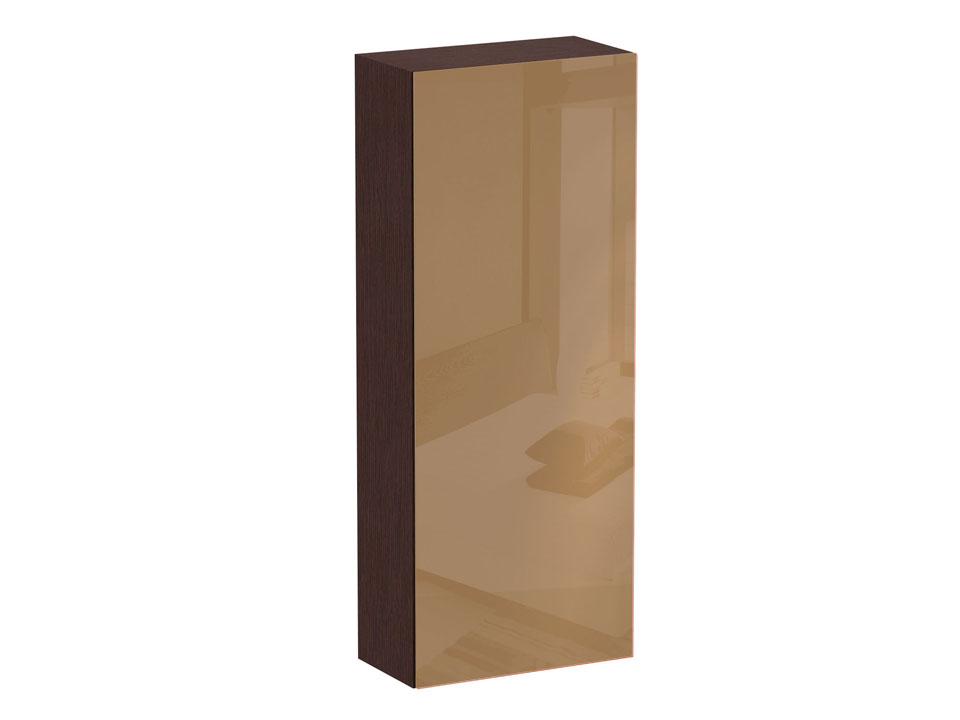 Шкаф CuboШкафы<br>Шкаф с двумя отделениями за одной распашной дверью: в левом отделении - щитовые полки, в правом - выдвижная штанга и полка под головные уборы. Дверь открывается по принципу «нажал-открыл». Шкаф крепится к стене.<br>