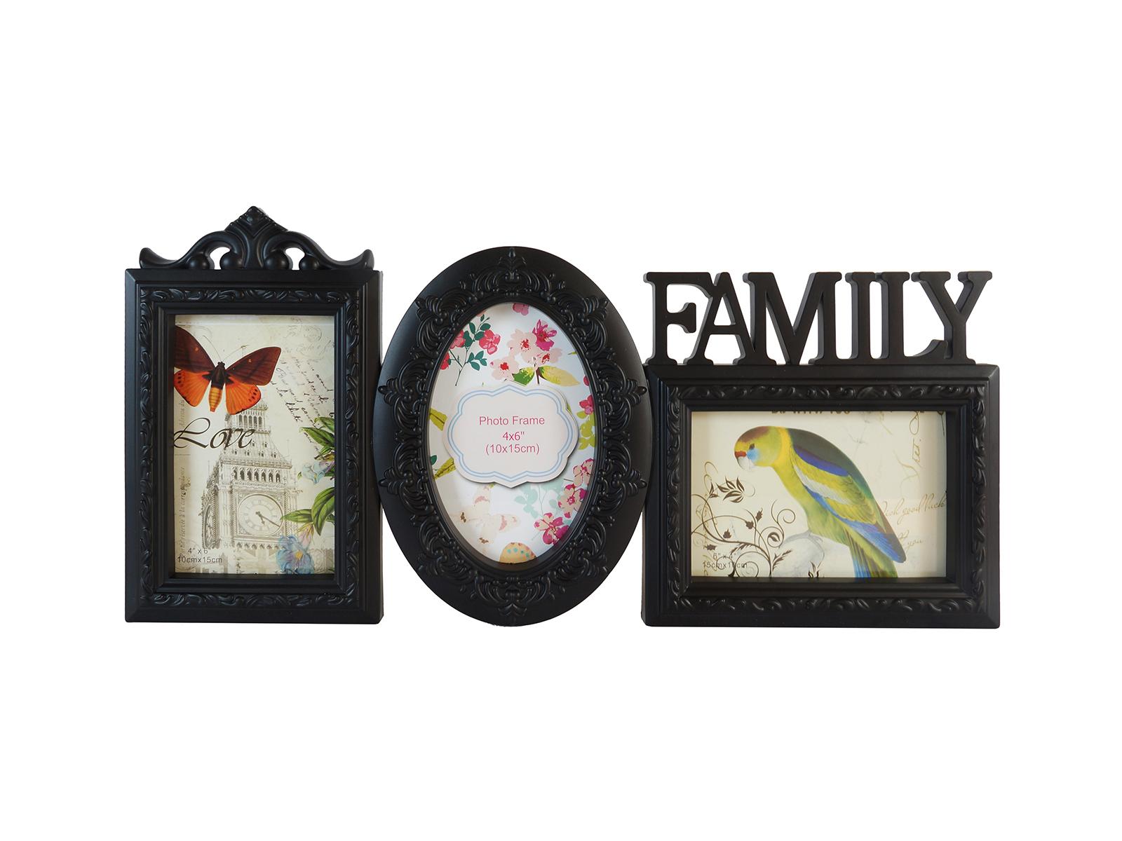Фоторамка FamilyФоторамки<br>Рамка для 3-х фотографий, подвесная<br>