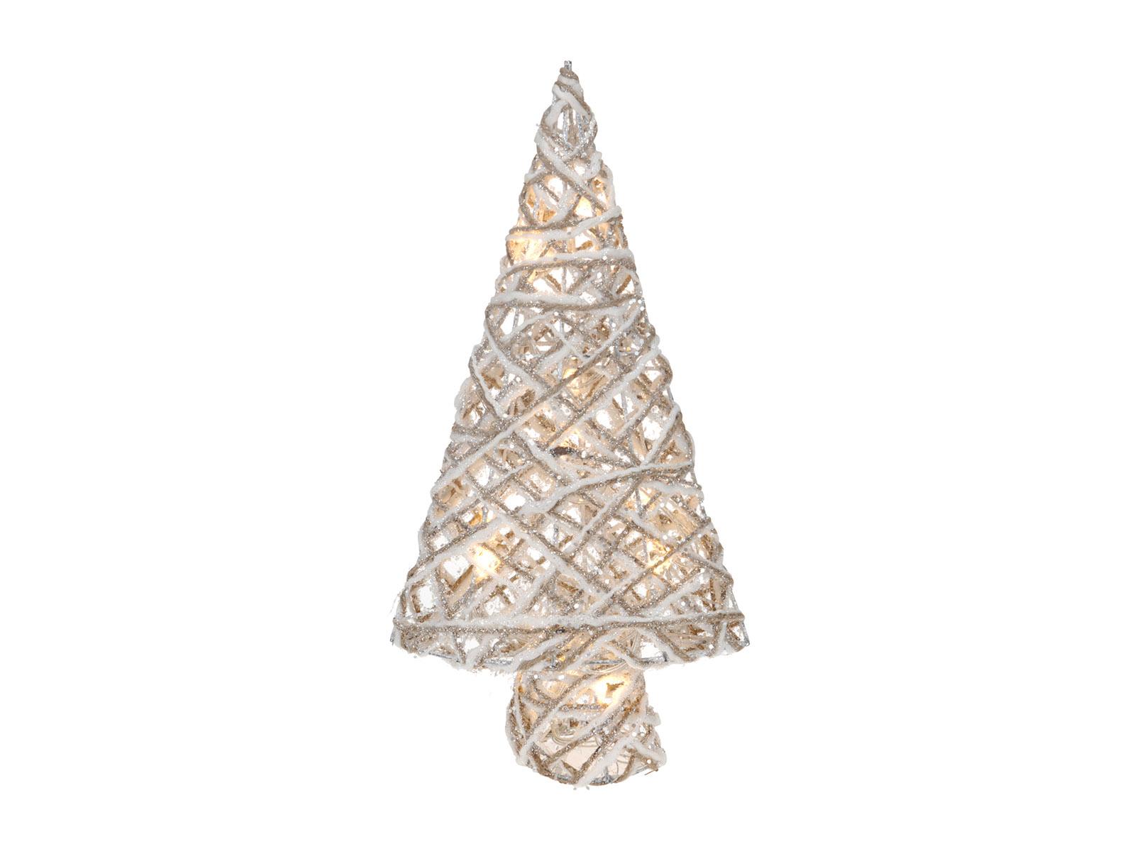 Светильник Christmas TreeНовогодний декор<br>Светильник декоративный, работающий от батареек<br>