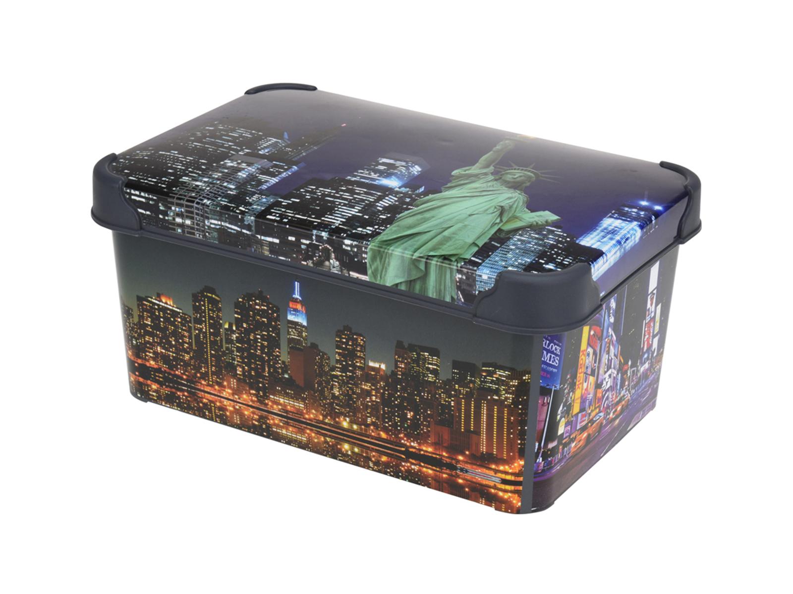 Коробка CityХранение<br>Коробка для хранения<br>