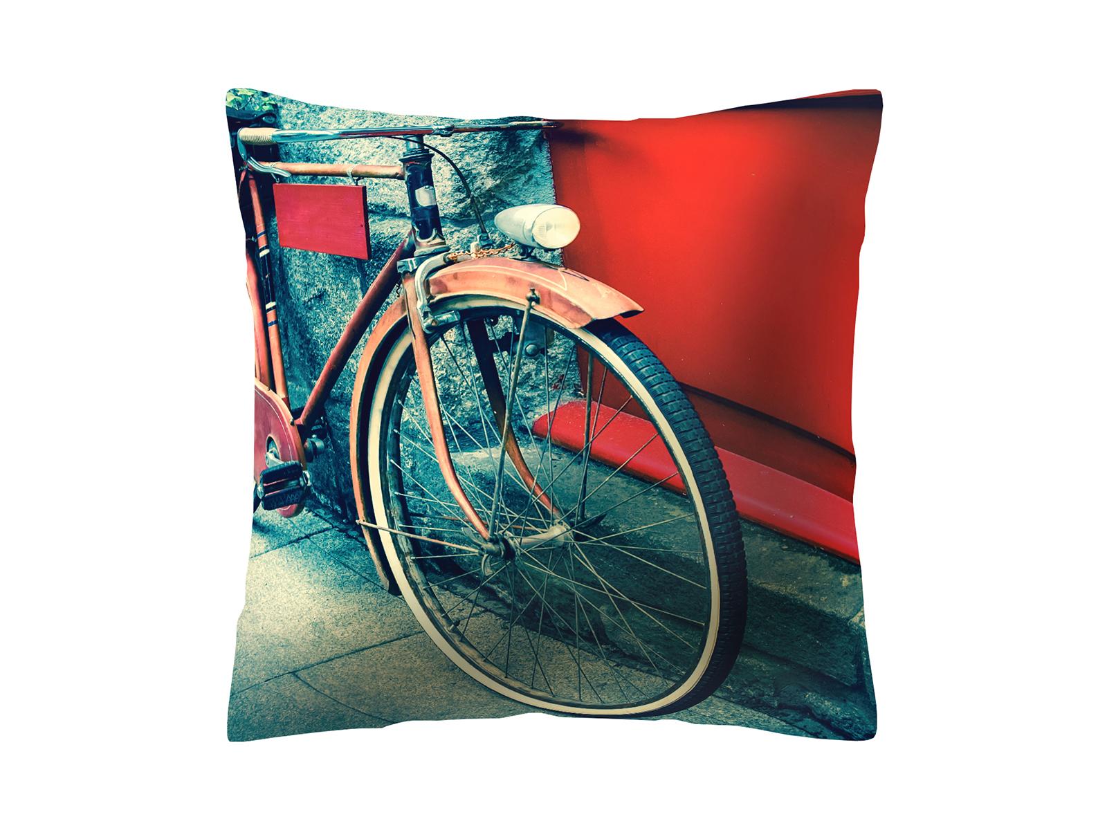 Подушка BicycleДекоративные подушки<br>Декоративная подушка со съемным чехлом<br>