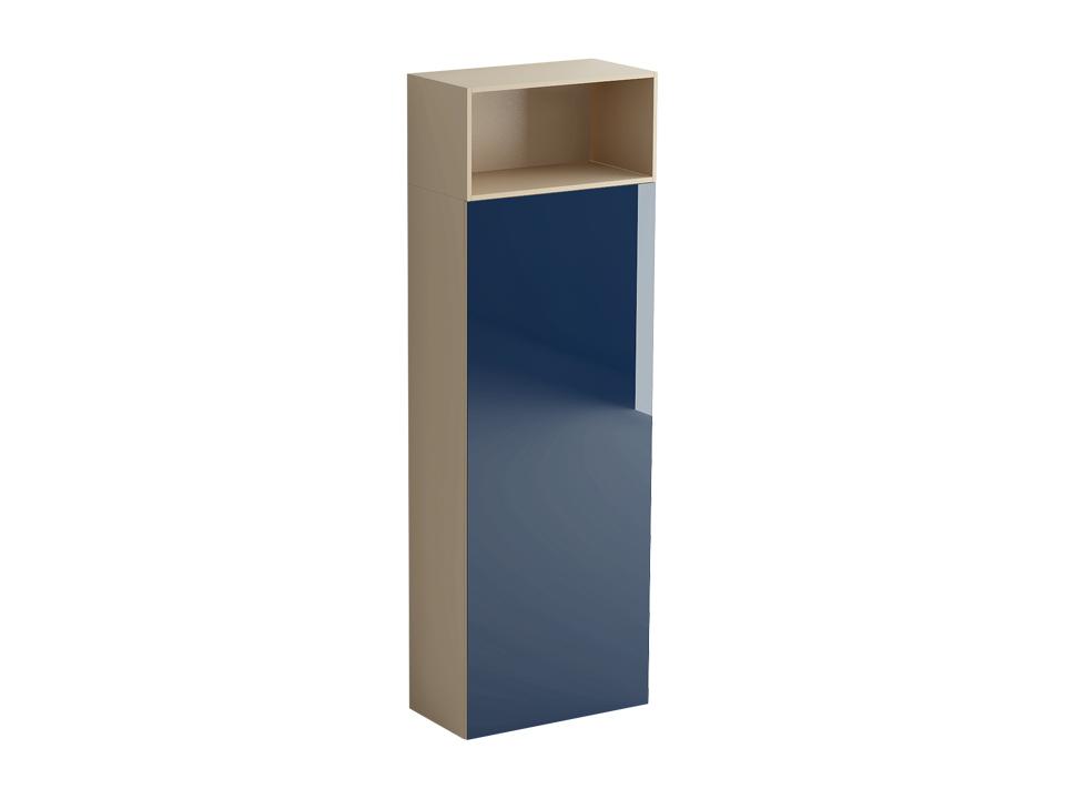 Шкаф DiamondШкафы<br>Шкаф состоит из отделения за распашной дверью и ниши над ним. Отделение оборудовано несъемной верхней полкой с выдвижным приспособлением для хранения одежды на плечиках и 3 съемными полками. Дверь может быть подвешена слева или справа. Двери шкафа открыва<br>
