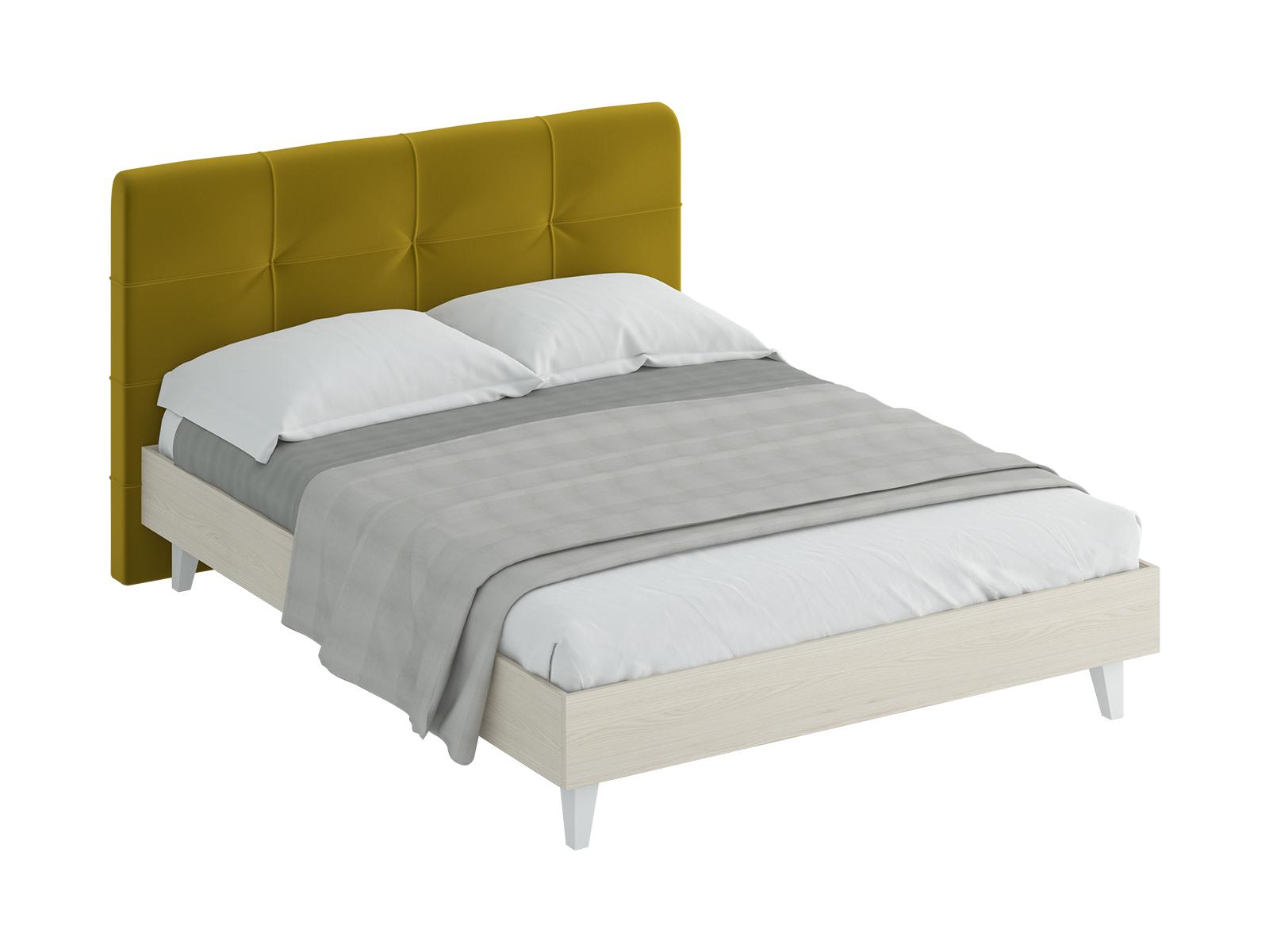 Кровать Queen AnnaКровати<br>Кровать двуспальная.  Спинка кровати оформлена декоративной строчкой. Размер спального места: 1600х2000 мм.<br>