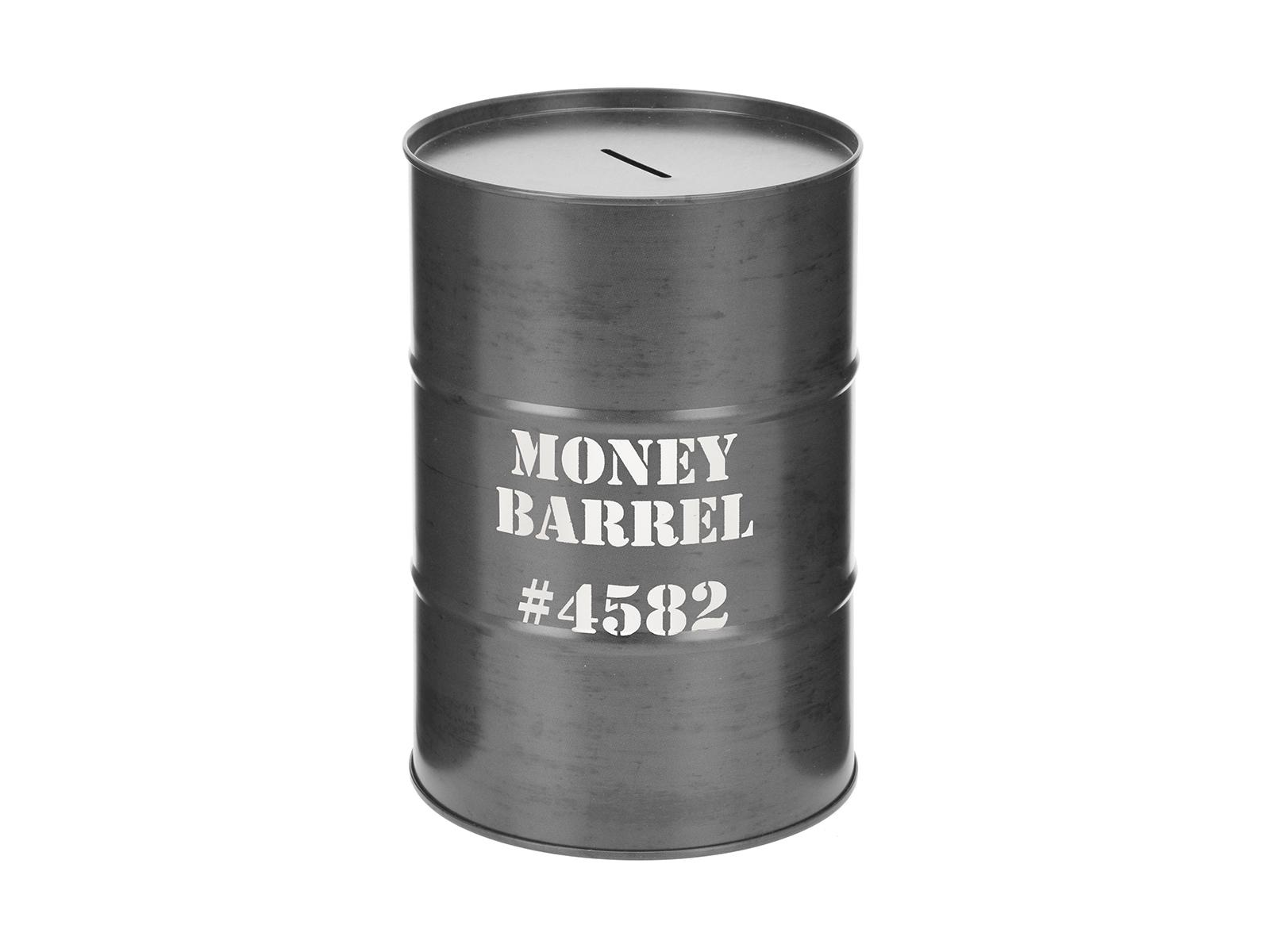 Копилка Money BarrelОформление интерьера<br>Копилка металлическая<br>