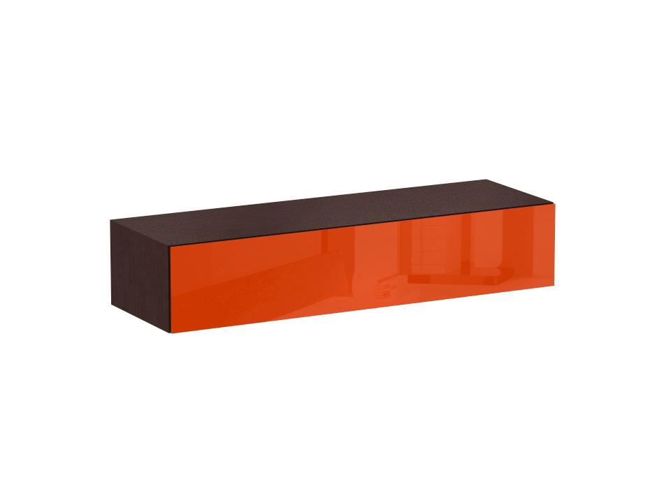 Тумба CuboШкафы, комоды, полки<br>Тумба имеет выдвижной ящик с двумя отделениями. Ящик открывается по принципу «нажал – открыл». Тумба крепится к стене.<br>