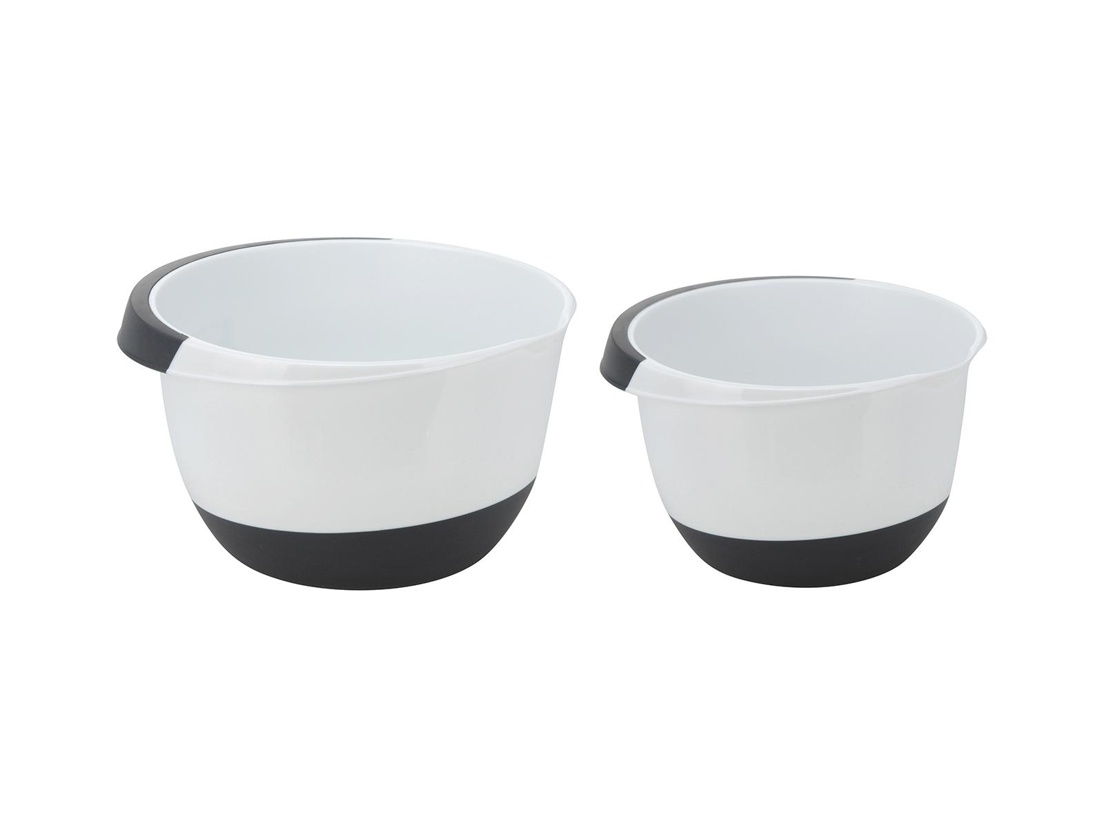 Чаши Cucina ModernaАксессуары для кухни<br>Набор кухонных чаш для смешивания. Объем: 2л., 3,5л.<br>
