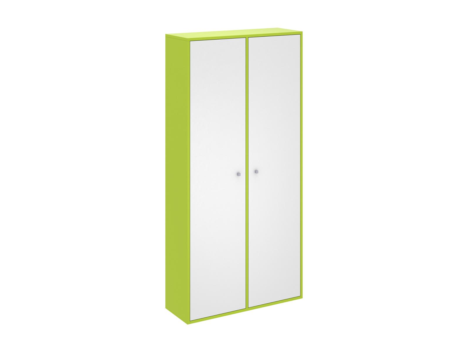 Шкаф PinokkioШкафы<br>Шкаф для хранения одежды имеет два отделения. В первом отделении расположены полки. Во втором - выдвижная штанга для одежды.<br>