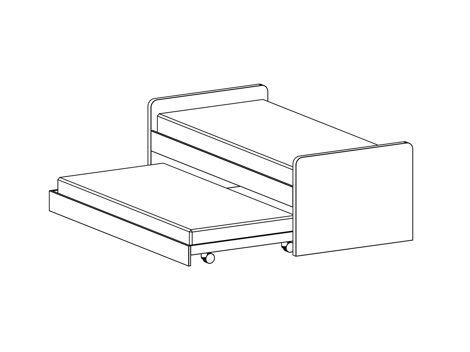 Кровать Pinokkio